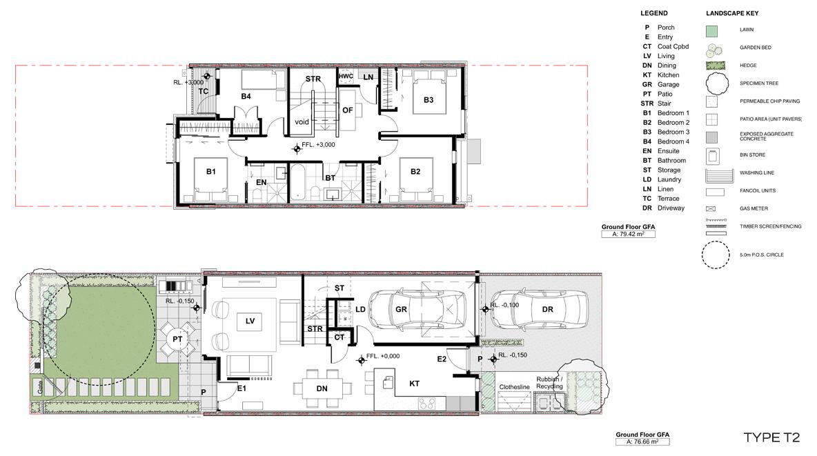 McLennan - Type T2 Plans
